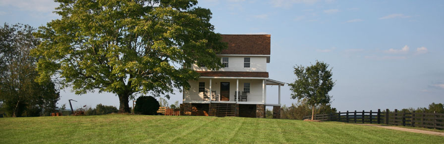 hunting creek farm house
